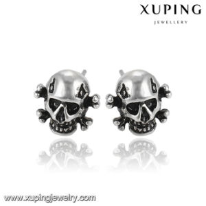 Fashion Cool Skeleton Shaped Stainless Steel Jewelry Earring for Christmas Day pictures & photos
