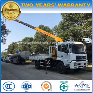 200kw Timber Loading Crane 6 Ton 8 Ton 10 Ton Truck with Crane pictures & photos