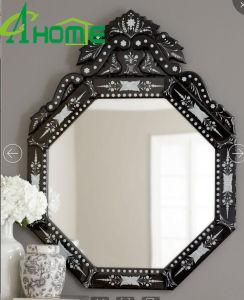 Beauty Design Cheap Black Wall Mirror Venetian Mirror pictures & photos