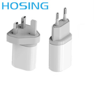 Universal EU UK U USB Travel Wall Charger for Mobile Phones pictures & photos