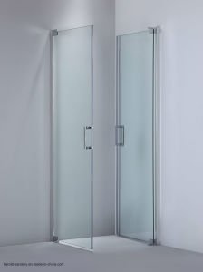 180 Degree Swing Double Swing Shower Screen No Fix Panel pictures & photos