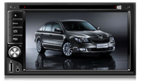 6.2 Inch Double DIN Car FM Radio with MP3 MP4 MP5 TV Player pictures & photos