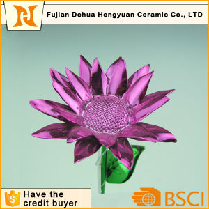Plating Sunflower Flower Wire for Home Decoration pictures & photos