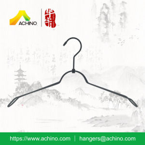 Black Metal Clothes Hanger with Hook (MT202) pictures & photos
