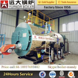 Best Quality Three Pass Firetube Diesel Oil Fuel Fired Steam Boiler for Slaughterhouse pictures & photos