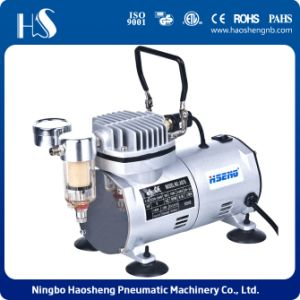 As18-1 Oil Free Airbrush Compressor for Makeup and Model Painting pictures & photos