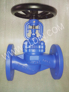 DIN WJ41H Flanged Bellows Seal Globe Valve Wenzhou Factory for Hot Oil System pictures & photos