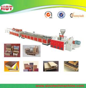 Plastic PVC WPC Profile Extrusion Machine Production Line pictures & photos