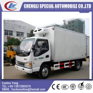 China Chengli JAC 4X2 3 Tons Freezer Refrigerator Truck pictures & photos