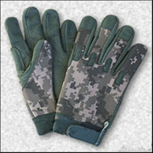 Anti-Stab Military Multicamo Water-Proof Wild Traning Multicamo Camouflage Tactical Outdoor Bionic Full-Half Finger Sports Travelling Leather Glove pictures & photos