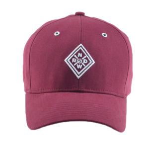 Wholesale Red/Black 6 Panels Cotton Hip Hop Baseball Cap Golf Cap pictures & photos