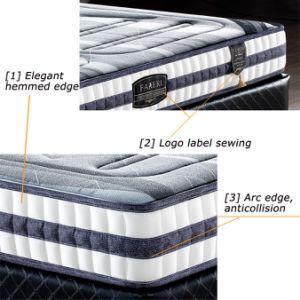 Natural Latex Waving Pocket Spring Mattress pictures & photos