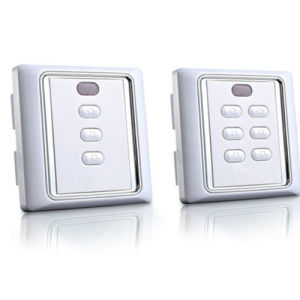 The High Quality Roller Shutter Remote Control Wall Switch with Remote Control and Manual Function pictures & photos