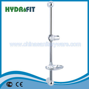 Brass Shower Sliding Bar Shower Head Slide Bar Shower Column (HY509) pictures & photos