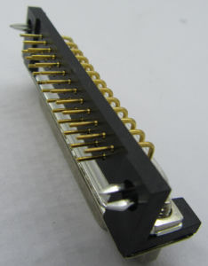Machined D-SUB Female Connector, Right Angle, with Thread and Fork pictures & photos