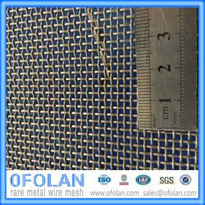 High Temperature Inconel 718 Nickel Alloy Wire Mesh (10 mesh) for Nuclear Engineering pictures & photos