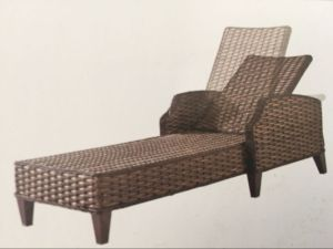 Outdoor Rattan Lying Bed Pool Lounge Chair pictures & photos