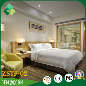 India Modern Style Solid Wood Bedroom Furniture Bedroom Set (ZSTF-02) pictures & photos