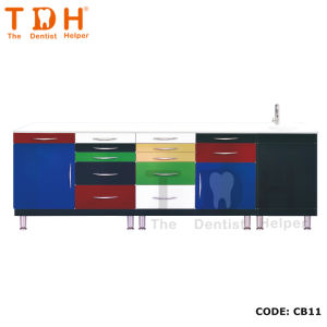 Dental Clinic Cabinet with Different Color (TDH-CB11) pictures & photos