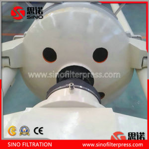 Sludge Dewatering Chamber Round Plate Type Filter Press pictures & photos
