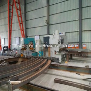 Shanghai Jsl Hydraulic Steel H-Beam Bending Machine pictures & photos