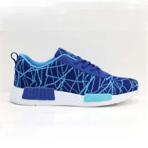 EVA Outsole Flyknit Upper Barefoot Running Shoes for Men pictures & photos