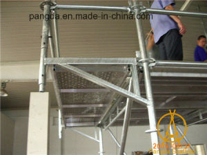 China HDG Building Material Steel Ringlock Scaffolding System pictures & photos