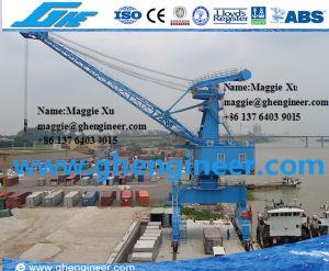 45t Mobile Cargo Cement Unloading Portal Crane pictures & photos