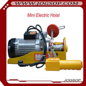 Mini Electirc Wire Rope Hoist Small Overhead Crane Capacity 200 pictures & photos