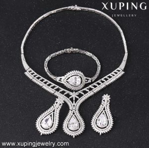 S-43 Fashion Luxury Cubic Zirconia Wedding Jewelry Set for Women pictures & photos