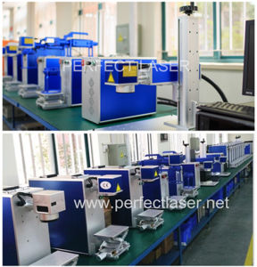 20W 30W 50W Metal Fiber Laser Marking Machine for Plastic Ring Phone Case Tag pictures & photos