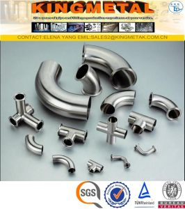TP304 400# Stainless Steel 3A Food Grade Sanitary Fitting Price pictures & photos