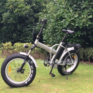 Beach Cruiser Foldable Fat Tire Electric Bike pictures & photos