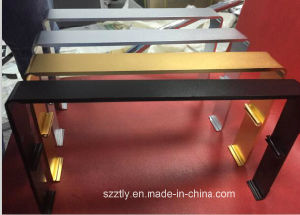 6063t5 Anodizing Silver /Black /Gold Aluminum Extrusion Alloy Profile pictures & photos