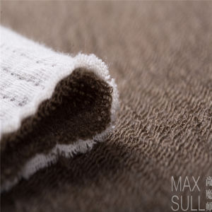 Wool /Cotton /Acrylic Mixed Wool Fabric for Autumn Season in Khaki pictures & photos