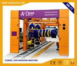 Dericen Ds11 Automatice Tunnel Car Wash Equipment with Dry Function and Tire Wash Brushes pictures & photos