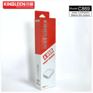 Kingleen C869 Four USB Intelligent Charger 5V-6A Produced by The Original Factory Export to Europe pictures & photos
