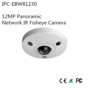 12MP Panoramic Network IR Fisheye Camera (IPC-EBW81230) pictures & photos