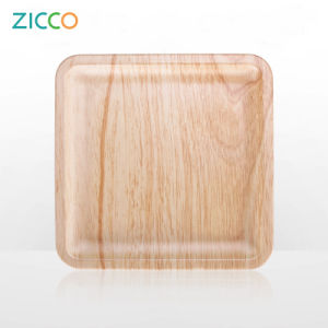 Melamine (light wooden decal) Plate pictures & photos