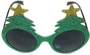 2017 Wholesale Custom Arrow Sunglasses Funny Christmas Tree Shade Shaped Party Glasses