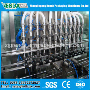 Automatic Food Sanitary Stainless Steel Linear Edible Oil Filling Machine pictures & photos