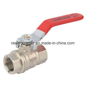 Nickel Plating Brass Ball Valve pictures & photos