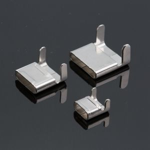 304 Stainless Steel Clasp Buckle for Banding Strapping Belt Buckles pictures & photos