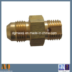 CNC Machining Copper Part/CNC Machined Turning Parts (MQ041) pictures & photos