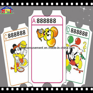 Indoor Game Accessories Redemption Ticket pictures & photos
