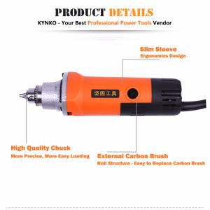 20mm Kynko Electric Power Tools Die Grinder for Stone (6033) pictures & photos