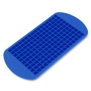 Eco-Friendly Food Grade 160 Cavity Silicone Ice Cube Tray Mini Ice Cubes Small Square Mold