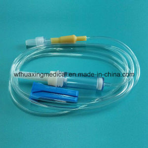 Disposable IV Drip Set with Needle pictures & photos
