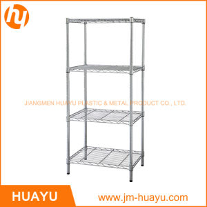 Multi Layer Commercial Plastic Coated Wire Shelving Wire Mesh Shelving Rack pictures & photos