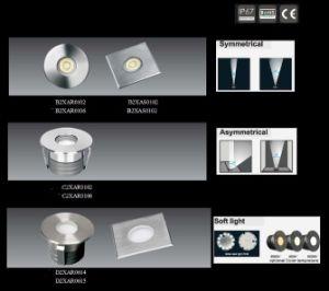 High Brightness DC12V 1W/3W LED Underground Lamp, Inground Light LED pictures & photos